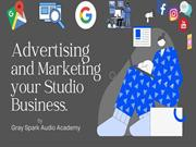 Advertising and marketing your studio business