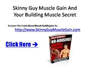 Skinny Guy Muscle Building - Skinny Guy Muscle Gain Tricks