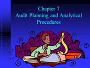audit planning and evidence