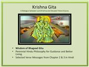 Wisdom of Bhagvad Gita (Hindi) 2-3