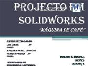Projecto em Solidworks