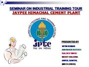 industrial training (cement)
