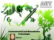 Contaminated Land Remediation Technologies
