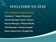 WELCOME TO JEIS