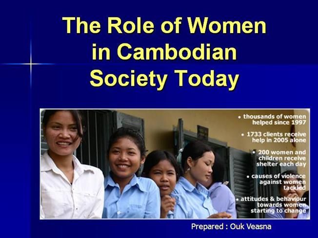 role of women in society essay