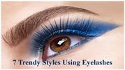 7 Trendy Styles Using Eyelashes That Gives You Serious Eye Makeup Goal