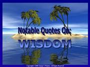 notable quotes on wisdom