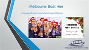 Corporate or Private Christmas Party Cruises in Melbourne