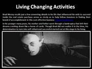 Living Changing Activities