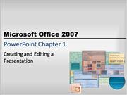 powerpoint chapter one powerpoint