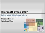 windows vista chapter powerpoint
