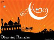 Observing Ramadan