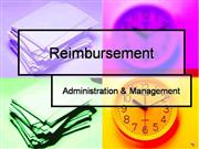 Reimbursement VO