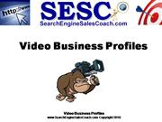 Search Engine Sales Coach Video Business Profiles
