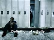 definition of a bully