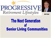 the next generation of senior living communities