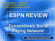 espn review social network marketing
