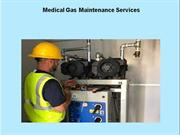 Medical Gas Maintenance Services