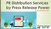 PR Distribution Services by Press Release Power