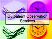 outpatient observation