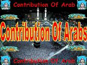 contribution of arabs