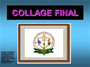 Collage Competition at CCSHAU