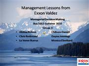 Exxon Valdez, GROUP 3,Summer2010