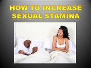 How to Increase Sexual Stamina in Bed