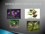 anticancer drugs of herbal origin