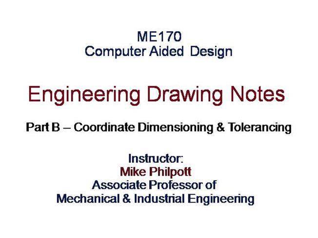 Engineering Drawing Notes |authorSTREAM