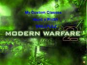 COD MW2 Custom Classes