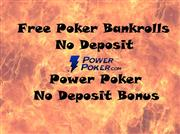 no deposit power poker bonus review