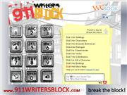 911 writers block