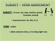 SubjectVerbAgreement