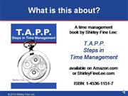TAPP Steps in Time Management  Book Preview