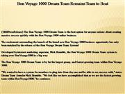 bon voyage 1000 dream team remains team to beat