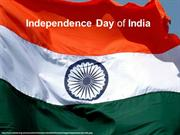 Indian Independence Day - 15th August
