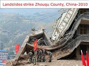 China -Landslides strike Zhouqu County-2010