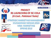 relaunch of r c cola