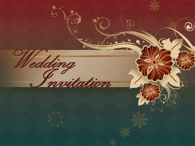 Santhoshi wedding invitation authorstream stopboris Images