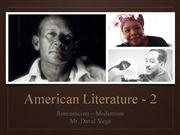 american literature overview