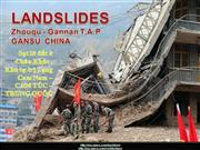 LANDSLIDES IN ZHOUQU - Gannan-GANSU-CHINA