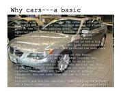 Why cars---a basic necessity