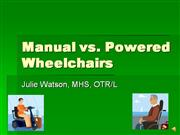 Powered vs. Manual with WC Mat Assess video-voice