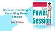 Christian Coaching & Consulting Power Session – Carica E