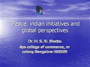 Towards Peace in Higher Education (1)