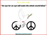 5 slides for peace