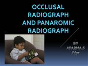 PEDO Presentation for occlusal radiograph