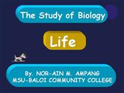 Ampang_The Study of Biology_lesson presentation