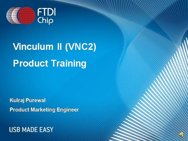 Ftdi Vnc2 Introduction |authorSTREAM
